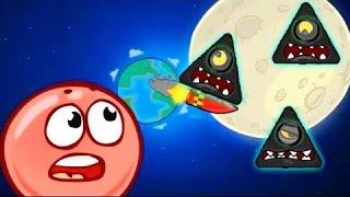 Красный Шар Мультик Игра для детей про прыгучий ШАРИК Red ball 4 для мальчика и девочки от Спуди!