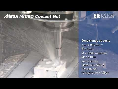 Tuerca refrigerante para MEGA Micro