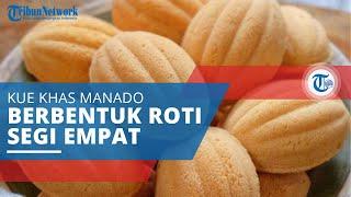 Kolombeng, Kue khas Manado Berbentuk seperti Roti Segi Empat dan Memiliki Cita Rasa Empuk dan Legit
