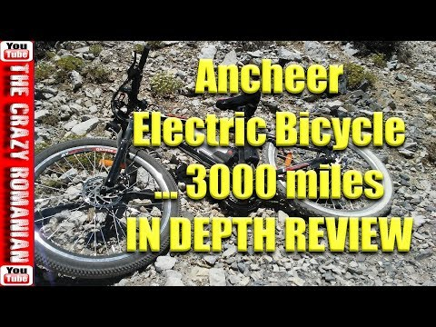 $499 Walmart/Amazon Ancheer Electric Bicycle In-Depth review after 3000 miles – What Broke so FAR!