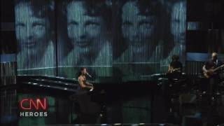 Alicia Keys - Superwoman - Live CNN Heroes [HD]