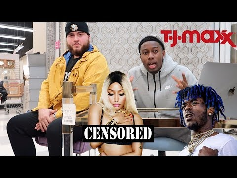 Lil Uzi Vert - The Way Life Goes Remix *REACTION*  INSIDE TJ MAX ( YOU KNOW WHAT HAPPENS)