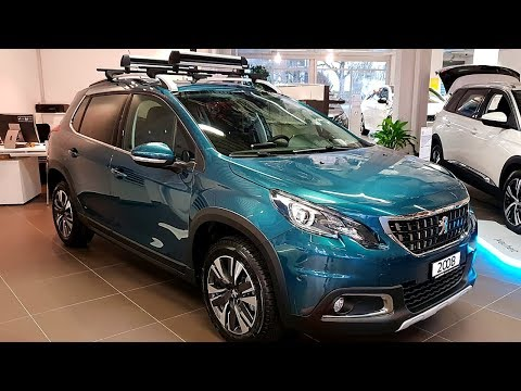 NEW Peugeot 2008 GT Line 2018 Interior Review