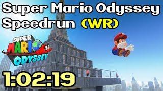 Super Mario Odyssey Any% Speedrun in 1:02:19 (Former World Record - June 9th / 2018)