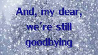 Let It Snow- Anna Margaret (lyrics on Screen)