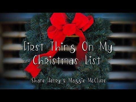 "The Imaginaries (Maggie McClure & Shane Henry) - ""FIRST THING ON MY CHRISTMAS LIST"""