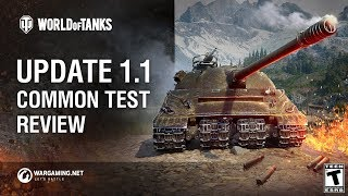 Update 1.1 Common Test Review