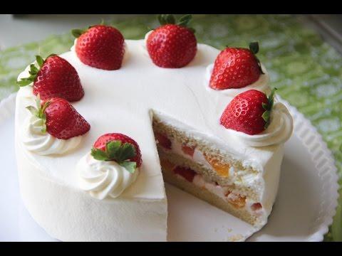 Strawberry Shortcake Recipe – Japanese Cooking 101
