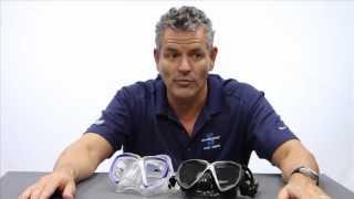 Трубка для плавания сухая SPECTRA Dry черный силикон (Scubapro) желтая от компании МагазинCalipso dive shop - видео