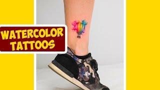 Stunning Watercolor Tattoos By Tattoo Artists Koray Karagozler