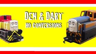 Day of the Diesels! Den & Dart HO Wheel Conversion (Thomas & Friends)