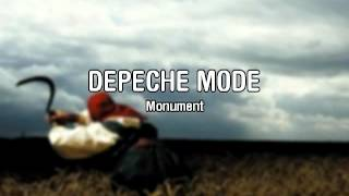 Monument | Depeche Mode (Lyrics)