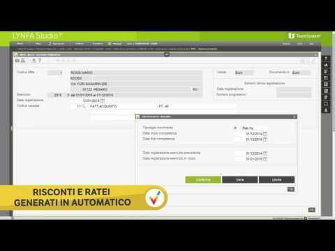 Software contabilità e simulazioni di bilancio LYNFA Studio