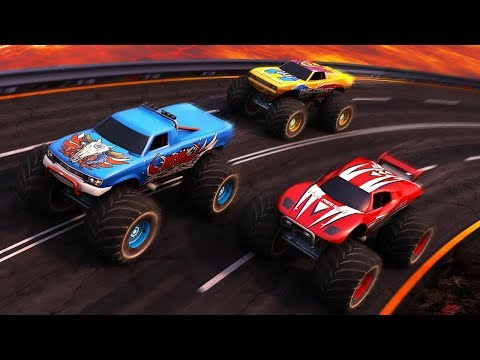 Monster Truck Racing 3D - ANDROID IOS Gameplay HD #cars #monstertruck