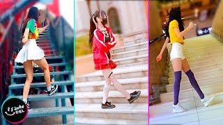 STAIR SHUFFLE Dance Challenge Tik Tok Asia