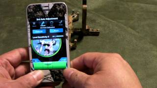 Firenock iBowSight app and Bracket, on iPhone 4S demo (take 2)