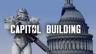 The Capitol Building - Once a Symbol of Power & Order; Now a Warzone