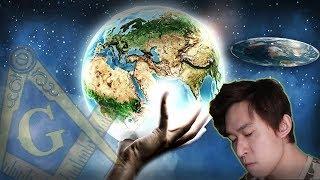 揭發Flat Earth地平說陰謀 (Ft.共濟會後人)