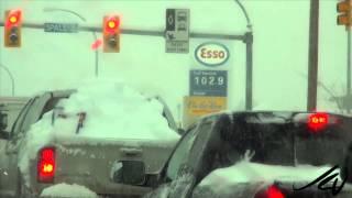 Snow Day!  Kelowna British Columbia,  January 5, 2015