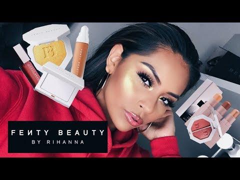 FENTY BEAUTY by Rihanna Review/Makeup Tutorial   SARAHY DELAROSA