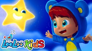 🌟 Twinkle, Twinkle, Little Star 🌟 Songs for Children | LooLoo Kids