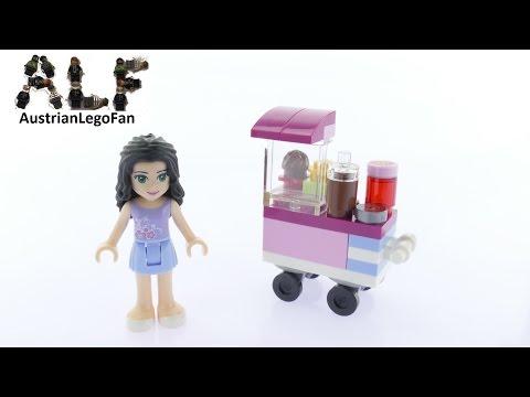 Vidéo LEGO Friends 30396 : Le stand de cupcakes (Polybag)