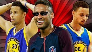 Neymar mita no Desafio com o Stephen Curry!