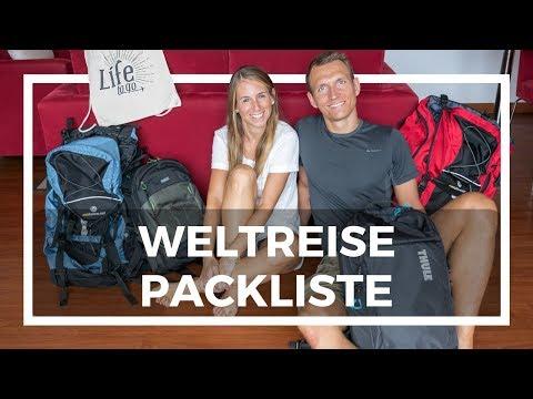 Weltreise Packliste • Update & Tipps nach 2,5 Jahren Weltreise
