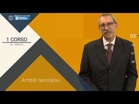 ECONOMIA DEL LAVORO -1 CORSO in 1 MINUTO - Prof. Aldo Viapiana