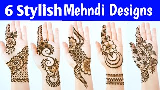 New Latest Stylish Mehndi Designs - Most Beautiful Easy Mehendi Designs For Front Hands