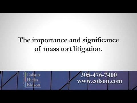 Why is Mass Tort Litigation Important for Consumer Safety?