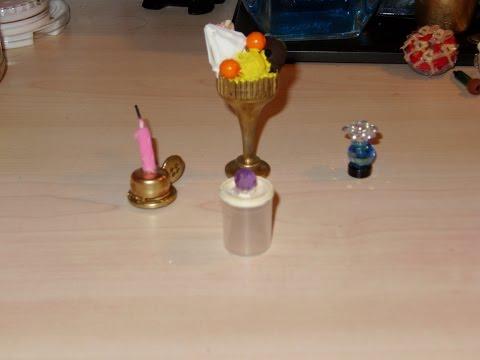 Miniatura DIY Bote galletas