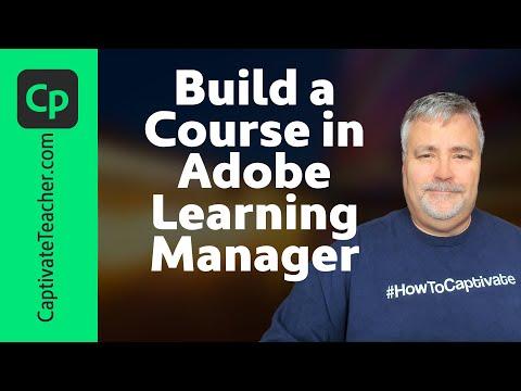 Create a Course in Adobe Captivate Prime - YouTube