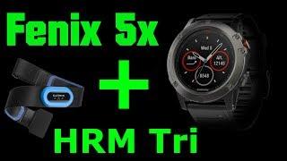 Fenix 5x + HRM Tri