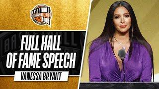 Vanessa Bryant   Hall of Fame Enshrinement Speech