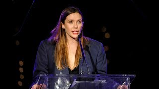 EMA Honors - Elizabeth Olsen Accepts EMA Futures Award