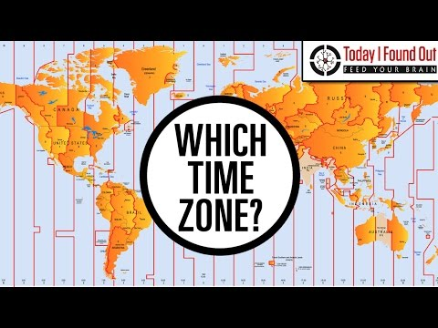 What Time Zones are the Poles In?