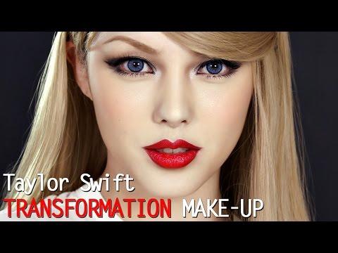Taylor swift transformation make up (With subs) 테일러 스위프트 커버 메이크업