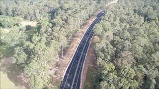 Link Road connection to the Princes Highway getting closer