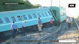 Машинист, управлявший поездом Астана – Алматы, задержан
