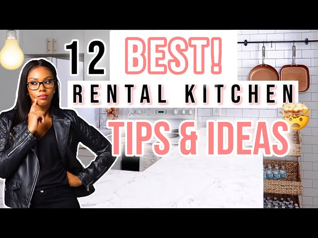 12 Tips and Ideas to Upgrade Your Small Ugly Apartment Kitchen | Hacks