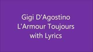 Gigi D'Agostino - L'Armour Toujours (album version) Lyrics mp3
