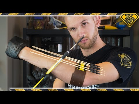 How To Make An Arm Mounted Skewer Shooter