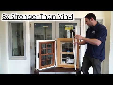 Marvin Window Comparison: Infinity Fiberglass Windows vs.Vinyl Windows