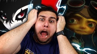 WE DIDNT SEE IT COMING!! PSYCHONAUTS 2 & PERSONA IN SMASH REACTION?! w/Squad + Girlfriend