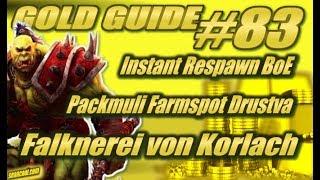 WoW Gold Guide #83 | Instant Respawn BoE + Packmuli Farmspot Drustvar - Falknerei von Korlach