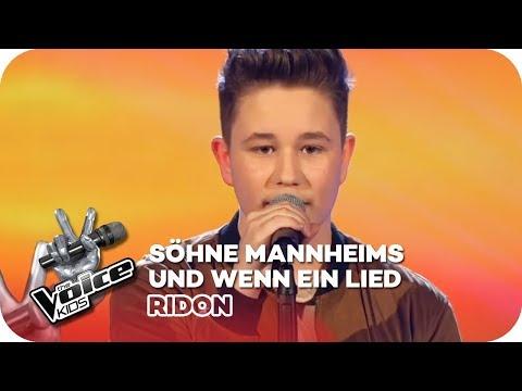 Söhne Mannheims - Und wenn ein Lied (Ridon)   Finale   The Voice Kids 2016   SAT.1