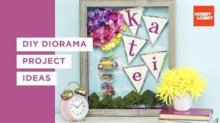 DIY Diorama Project Ideas   Hobby Lobby®