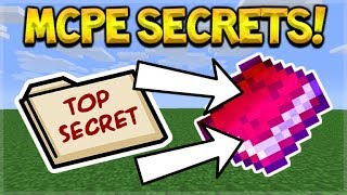 OMG! THEY ADDED THESE 2 SECRET ENCHANTMENTS TO MCPE BETA!