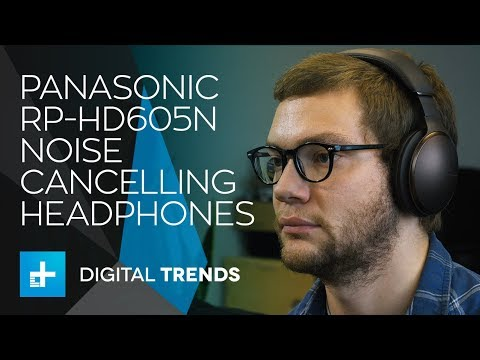 Panasonic RP-HD605N Noise-Cancelling Headphones - Hands On Review